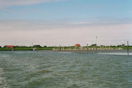 LANGEOOG 2005 - Ausflug zu den Seehundbänken - Hinfahrt